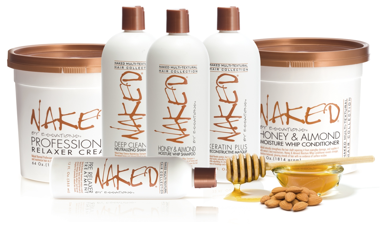 Naked by Essations partners with Patric Bradley to launch Soft So Relaxer